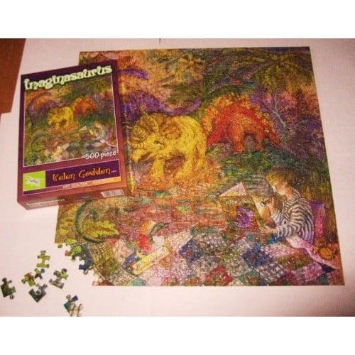 Imaginasaurus 500 Piece Jigsaw Puzzle Helen Godden